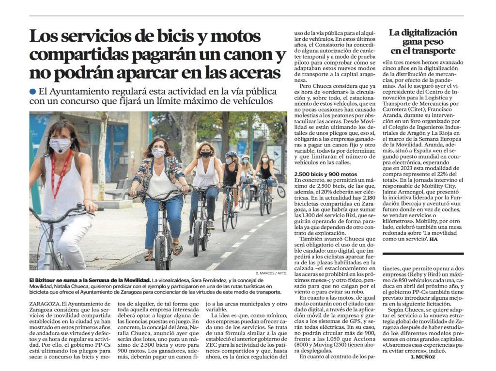 18 SEPT 2020 | El Colegio acoge las Jornadas de Movilidad del CITET |%sitename%