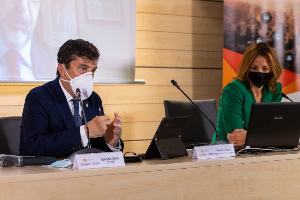 Decano del Colegio de ingenieros industriales de Aragón y La Rioja