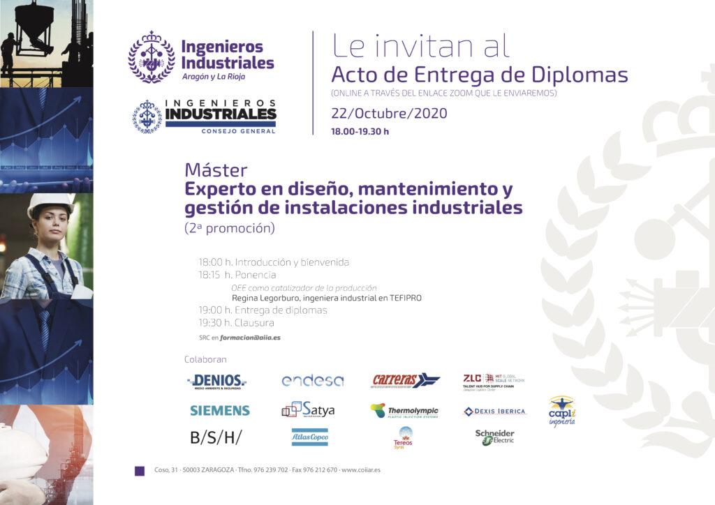 03 INVITACIÓN MASTER | Alumnos de toda España reciben los diplomas del Máster y el posgrado propio |%sitename%