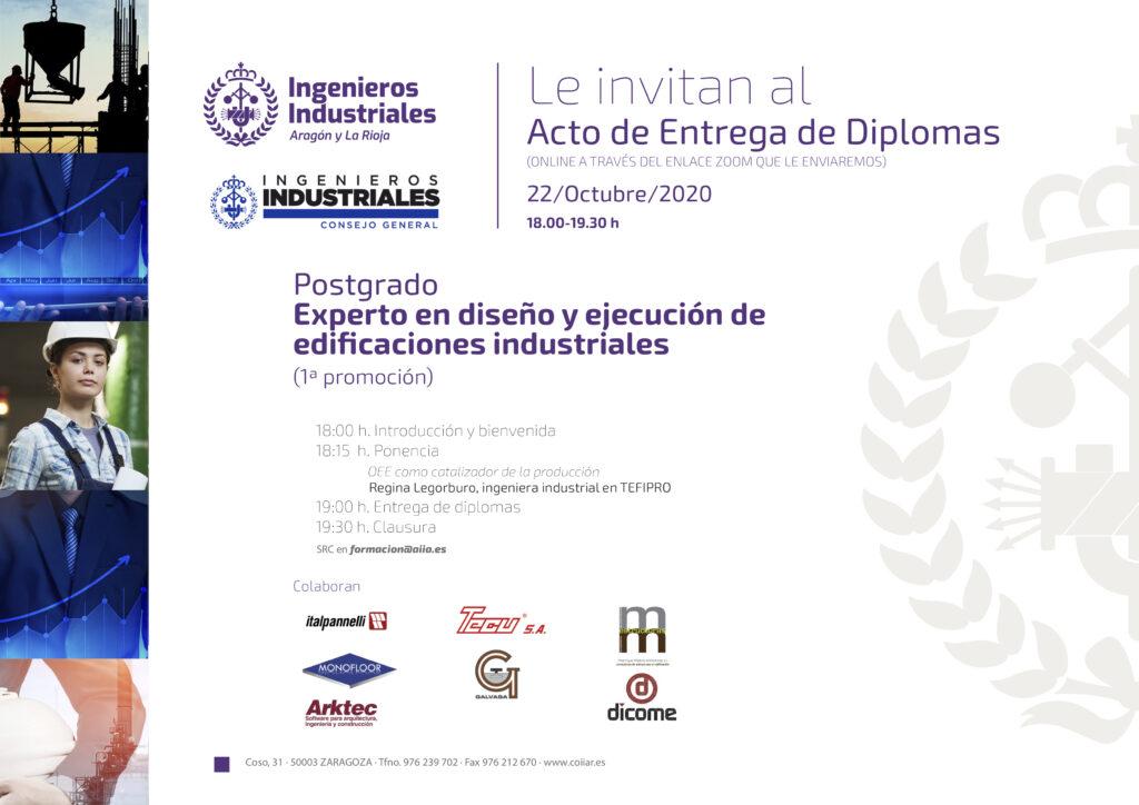 03 INVITACIÓN POSTGRADO | Alumnos de toda España reciben los diplomas del Máster y el posgrado propio |%sitename%