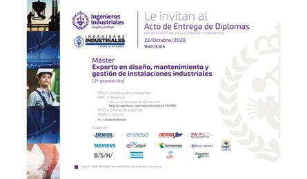 Alumnos de toda España reciben los diplomas del Máster y el posgrado propio