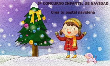 V Concurso infantil «Crea tu postal navideña»
