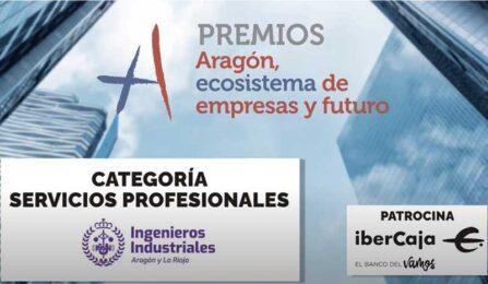 El Colegio de Ingenieros Industriales, PREMIO ARAGÓN ECOSISTEMA DE EMPRESA Y FUTURO