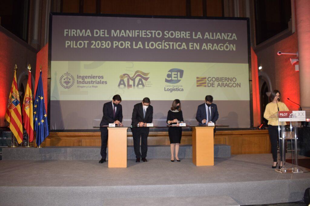 IMG 20210428 WA0024 | El Colegio de Ingenieros Industriales firma el Manifiesto por la logística en Aragón junto al Gobierno, ALIA y el CEL |%sitename%
