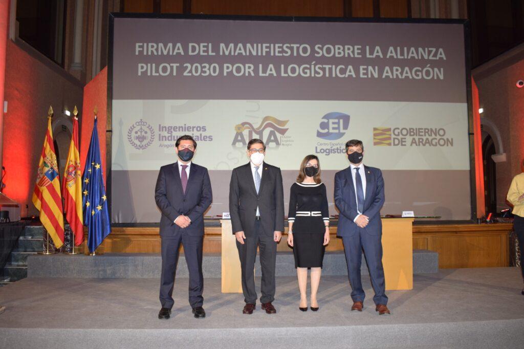 IMG 20210428 WA0026 | El Colegio de Ingenieros Industriales firma el Manifiesto por la logística en Aragón junto al Gobierno, ALIA y el CEL |%sitename%