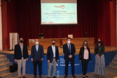 """El Colegio de Ingenieros Industriales, protagonista en el I Encuentro """"Teruel escucha a la Ciencia"""""""