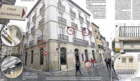 La sede del Colegio de Ingenieros Industriales en Logroño en la prensa