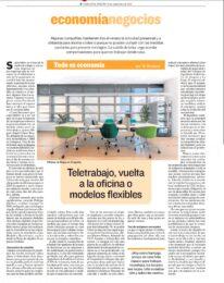 Nuestro compañero Carlos López Serrano habla en HERALDO sobre teletrabajo y contagios por aerosoles